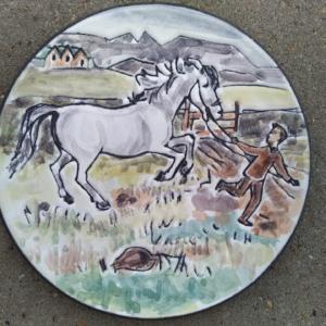 Icelandic horse – keramik – håndlavet islandsk. – GLIT