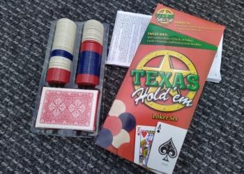 Pokersæt – ungdomsspil – som nyt – fra 12 år