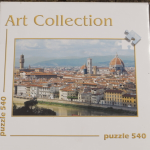 Puslespil motiv Firenze 540 brikker Art collection.