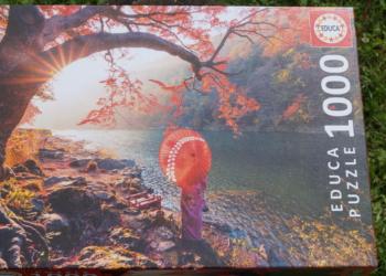 EDUCA 1000 brikker – Sunrise in Katsuma River