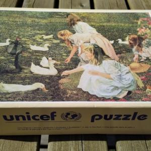UNICEF puslespil 1000 brikker.