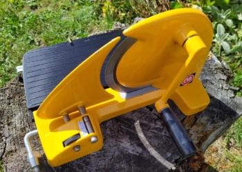 Brødskærer EVA- Retro – 1970èrne – solsikke gul