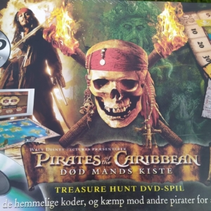 Disneyspil – DVD pirates of the caribbean – Treasure hunt DVD spil