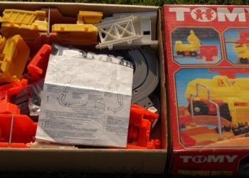 Sjældent sæt – Tomy automatic transport service art nr 9182 fra 1977 Mint condition