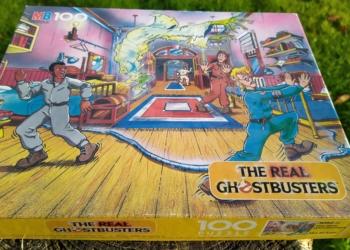 Ghostbusters puslespil 100 brikker. Sjælden.