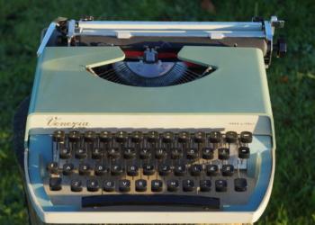 Venezia I.M.C skrivemaskine Italiensk design. Smuk og funktionel