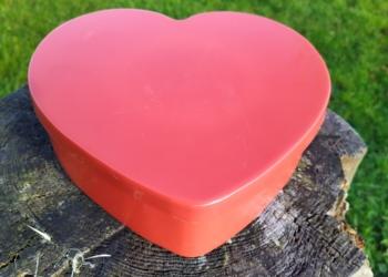 Hjertedåse 26 cm i diameter