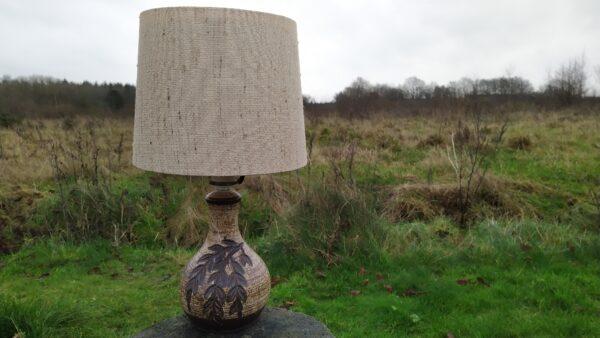 Axella dansk keramik lampe retro lampe eksklusiv