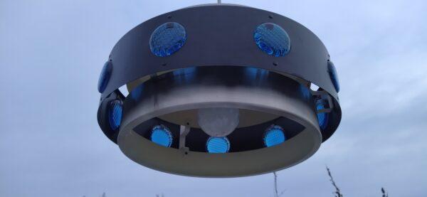 Smuk retro loftlampe til spisebordet. 32 cm.