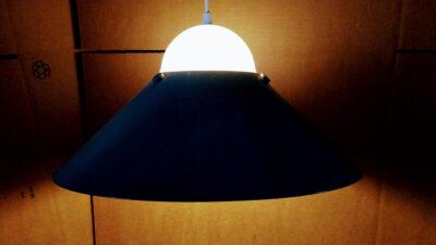 Stor retro industri lampe til spisebord