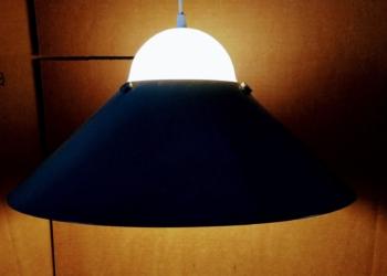 Arbejdslampe til det kreative retro værksted. Stor smuk retro industri lampe 44 cm
