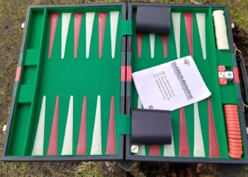 Stor Backgammon kuffert