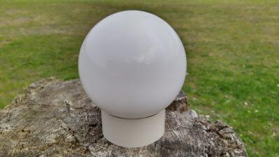 Glas kuppel til badeværelset.