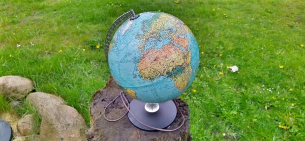 Original globus fra 1972