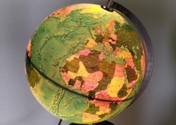 Original globus fra 1972.