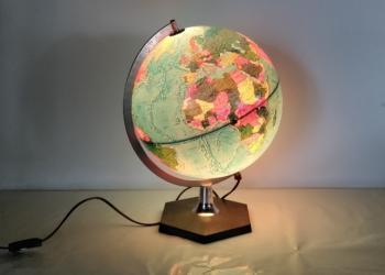Vintage globus fra 70 erne. Dansk håndværk. Scan Globe type 5