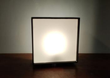Louis Poulsen 32024 væglampe. Helt nyt el. Upcycled til bord/ reol lampe.